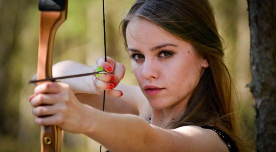 Woman Archery Photo