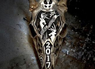 Bone Tattoo European Deer Skull