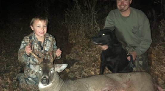 First buck of Indiana youth hunter